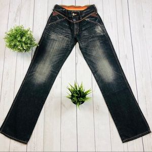 🇯🇵Edwin Blue Trip Straight Jeans  Size 28